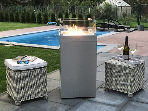 Bild 1 von Gaskamin Outdoor Firestar Ambiente Medium