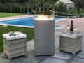 Gaskamin Outdoor Firestar Ambiente Medium