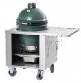 Edelstahl Profi Tisch/Stainless Steel Unit BIG GREEN EGG