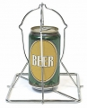 Bierhähnchenhalter/Folding Stainless Beer Can Chicken Roaster (Big Green Egg)