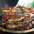 Bild 2 von Grillrost mit 3 Ebenen/3 Level Cooking Grid (Big Green Egg)
